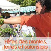 Foires bio Atelier des Bons Plants caden producteur de plants et semences bio